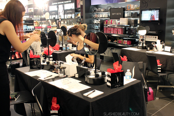 Behind the Scenes: Sephora Classes | Slashed Beauty