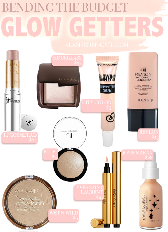 Bending the Budget: Glow Getters | Slashed Beauty