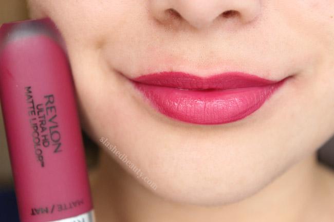 Revlon Ultra HD Matte Lipcolor Review & Swatches | Slashed
