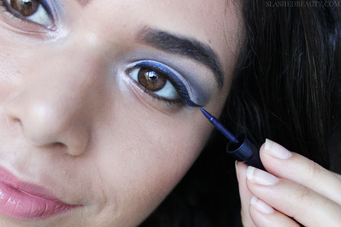 Blue is in season this Fall! Check out these easy ways to add hues of blue to your beauty routine, and how to save during the Sally Beauty Fall Color Under $10 Sale! | Slashed Beauty
