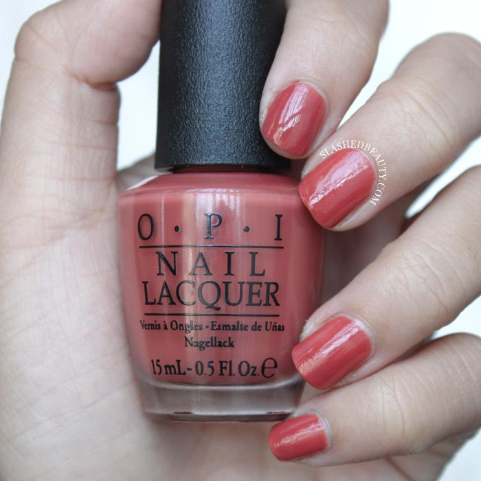 Check out these six new fall nail shades from the O.P.I. Washington D.C. Collection! | Slashed Beauty