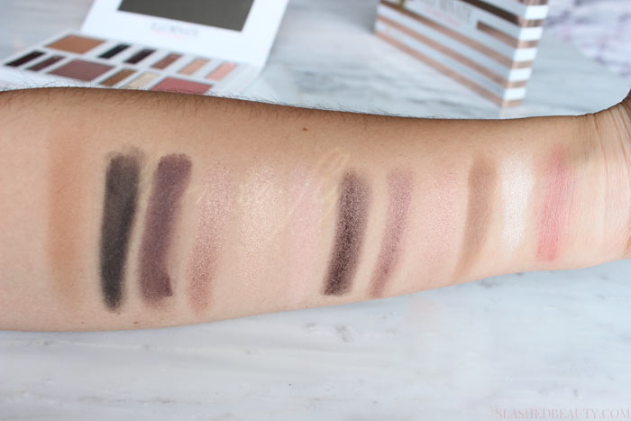 See a look created from the Illuminate by Ashley Tisdale Night Goddess Palette and why it's awesome for makeup lovers who don't have time! | Slashed Beauty