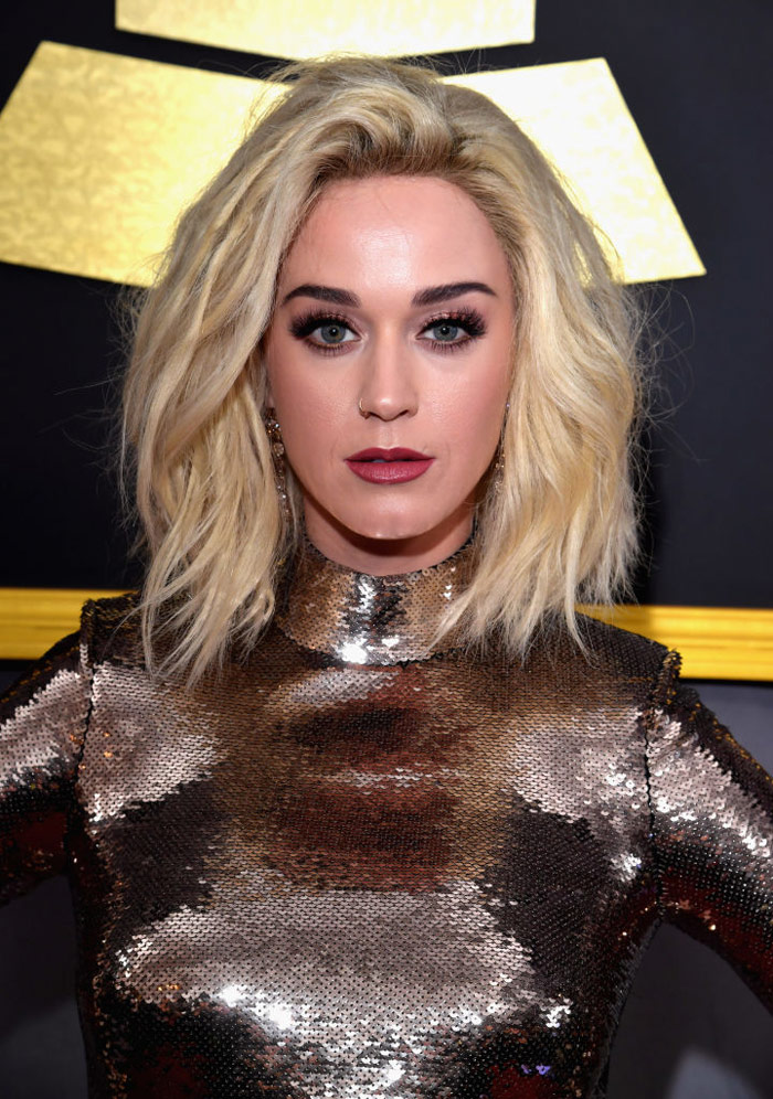 Get the scoop on the newest items from the Katy Perry x CoverGirl Katy Kat line, and how to recreate her Grammys 2017 makeup look. | Slashed Beauty
