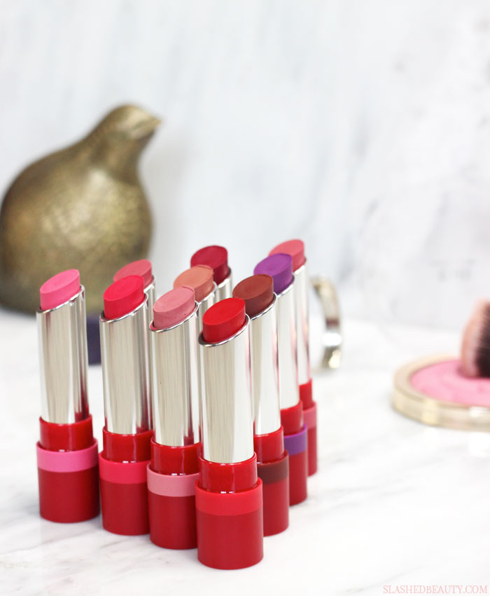 NEW! Rimmel The Only 1 Matte lipsticks have hit the US. See swatches of all the shades and hear why they are truly the only ones you'll want to wear. | Slashed Beauty
