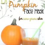 DIY Pumpkin Face Mask for Acne-Prone Skin