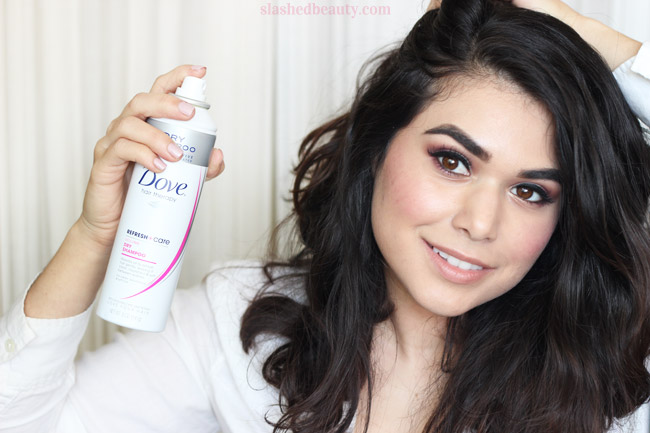 Dry shampoo should be a must-have for everyone's beauty arsenal. Find out 5 ways to use it and keep your hair looking and feeling fresh. | Slashed Beauty