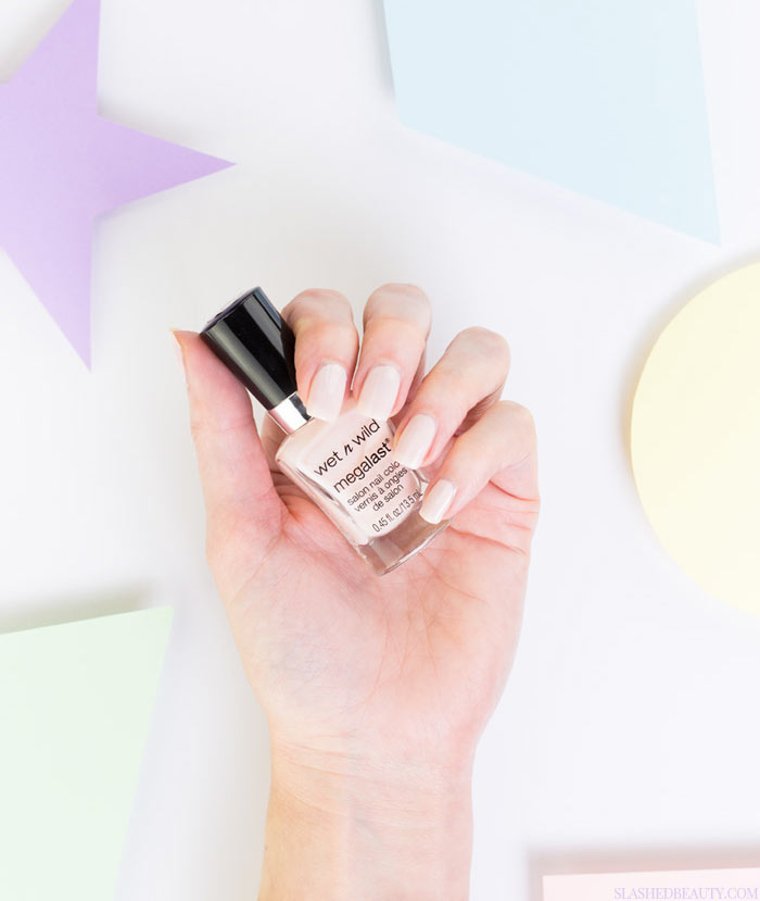 5 Pastel Drugstore Nail Polishes You Need Right Now: #4 Wet n Wild Megalast in Sugar Coat