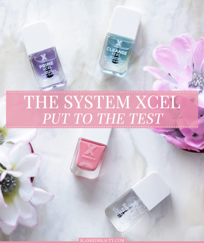 Does Sephora's The System XCEL really last 10 days? Find out in this review! | Slashed Beauty