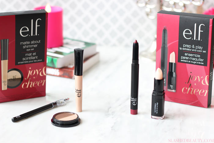 Check out what e.l.f. Holiday Gift Sets have in store this season for easy and affordable beauty gift giving! | Slashed Beauty