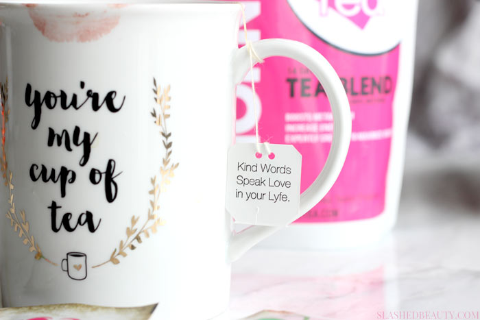 Do tea detoxes really work? Hear my thoughts on the Lyfe Tea 14 Day Teatox and how to actually lose weight with tea. | Slashed Beauty