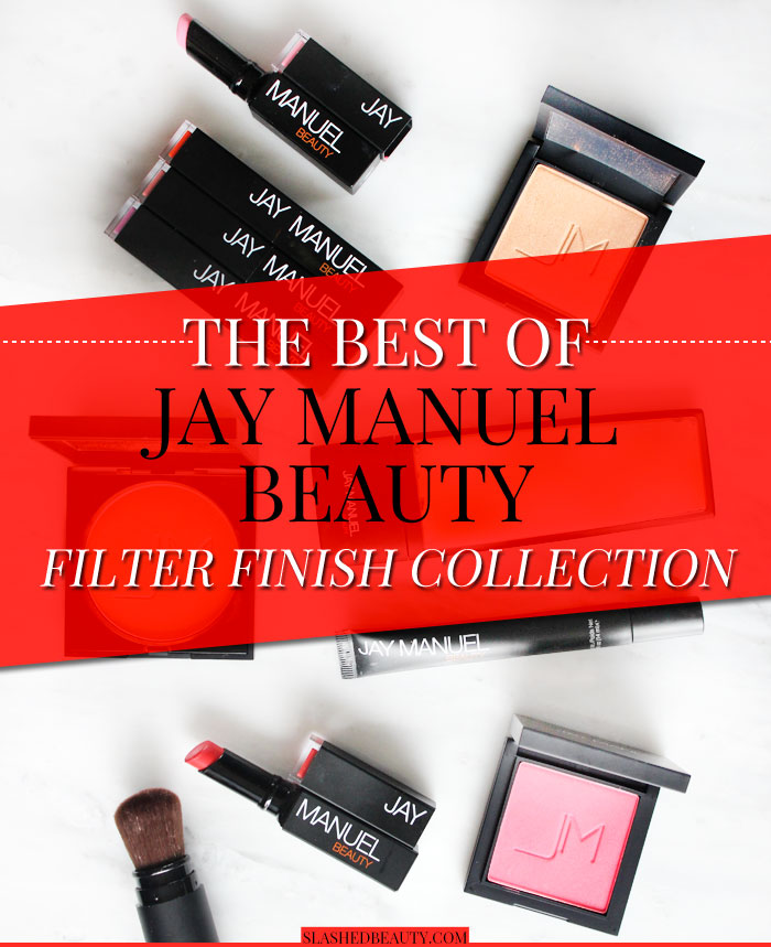 Get a closer look at Jay Manuel Beauty Filter Finish Collection, and click through for a giveaway! Top model worthy, for sure. | Slashed Beauty
