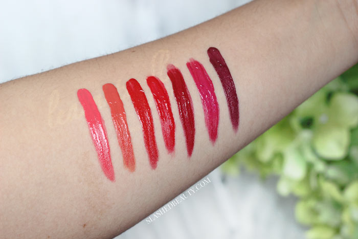 Do the CoverGirl Outlast All Day Custom Reds Lip Colors truly last all day, let alone 24 hours? Watch the demo, see lip swatches and read the full review. | Slashed Beauty